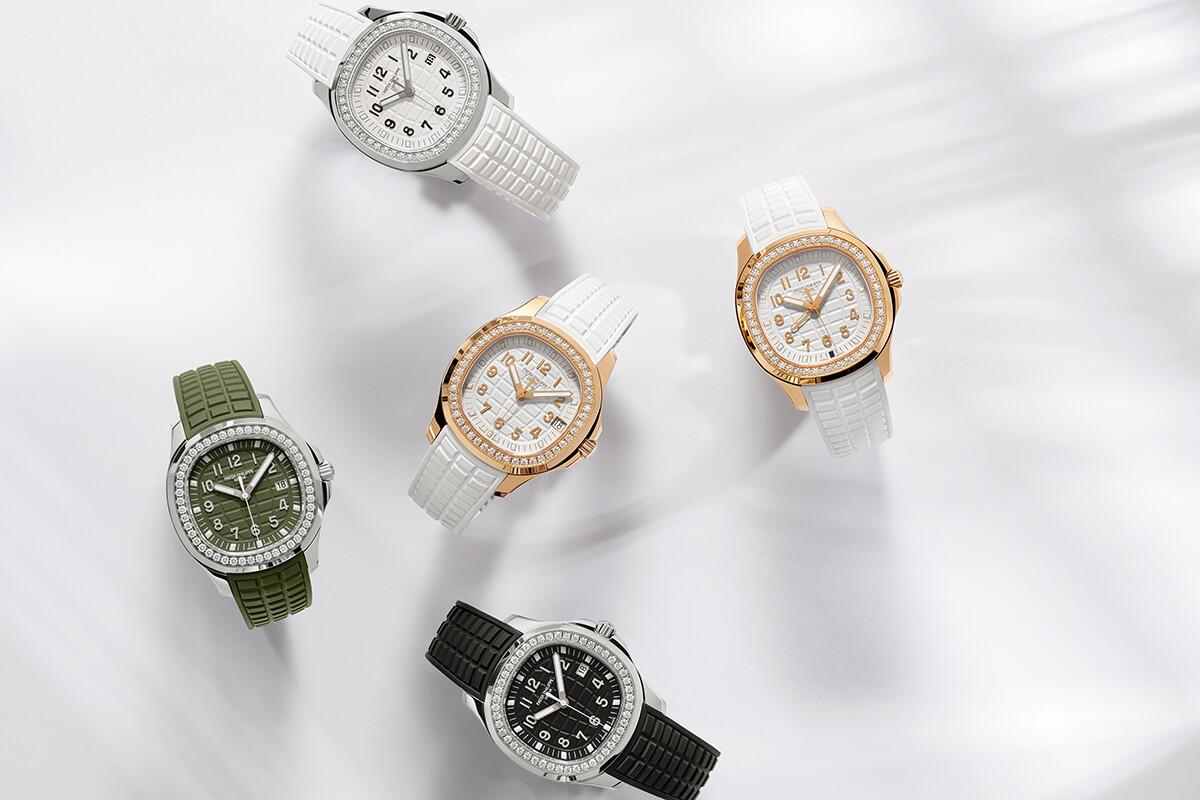 Os cinco modelos Patek Philippe Aquanaut Luce