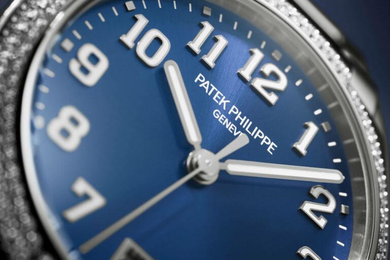 Pormenor mostrador Patek Philippe 7300-1200A - TWENTY~4 Automatic @ Patek Philippe