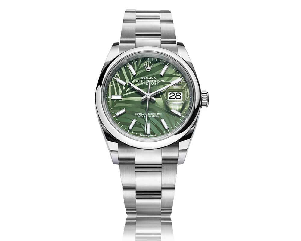 Rolex Datejust 36 em fundo branco