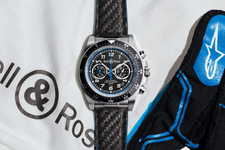 Bell & Ross Alpine F1 BR V3-94 A521