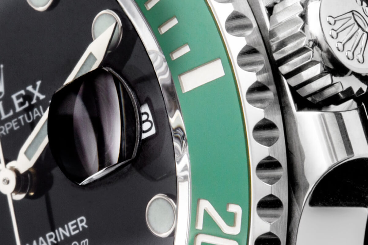 Pormenor Rolex Submariner Date   © Paulo Pires / Espiral do Tempo