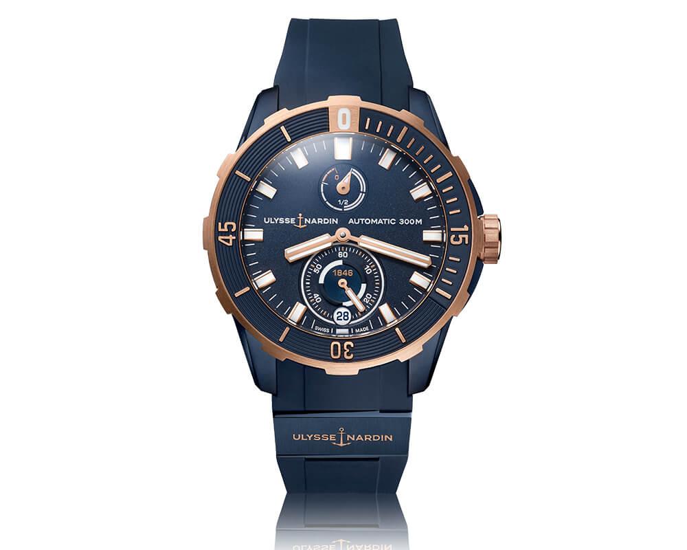 Soldad Ulysse Nardin - Diver Chronometer 44mm ©Ulysse Nardin