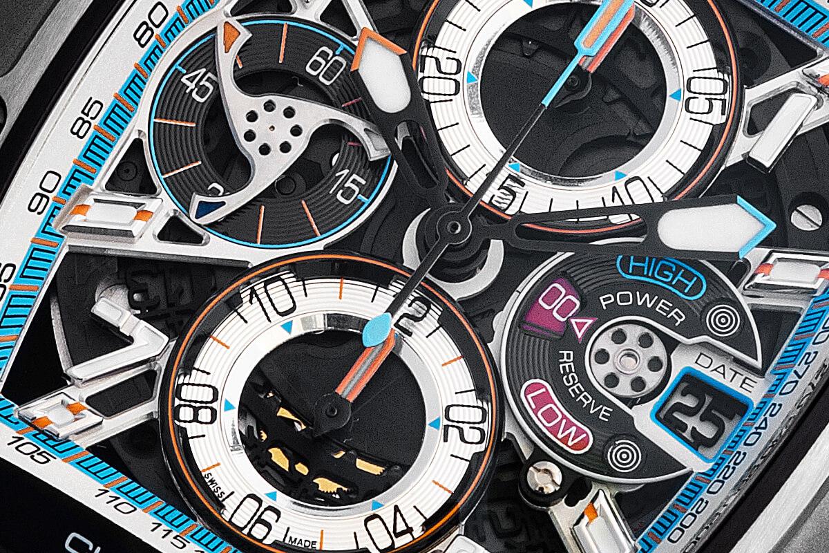 Mostrador do Cvstos Challenge III Chronograph-S