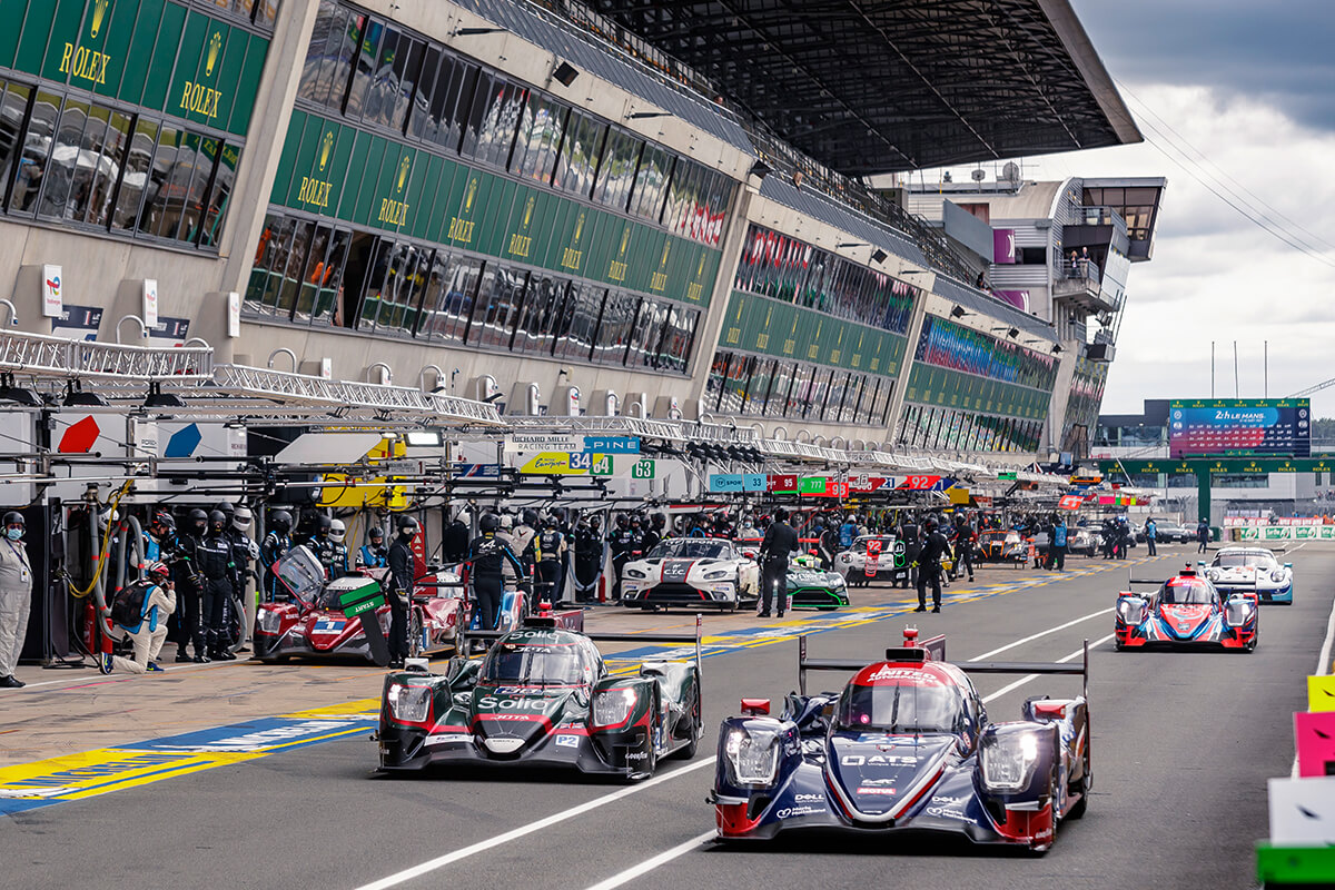 Le Mans, treinos na pista em 2021
