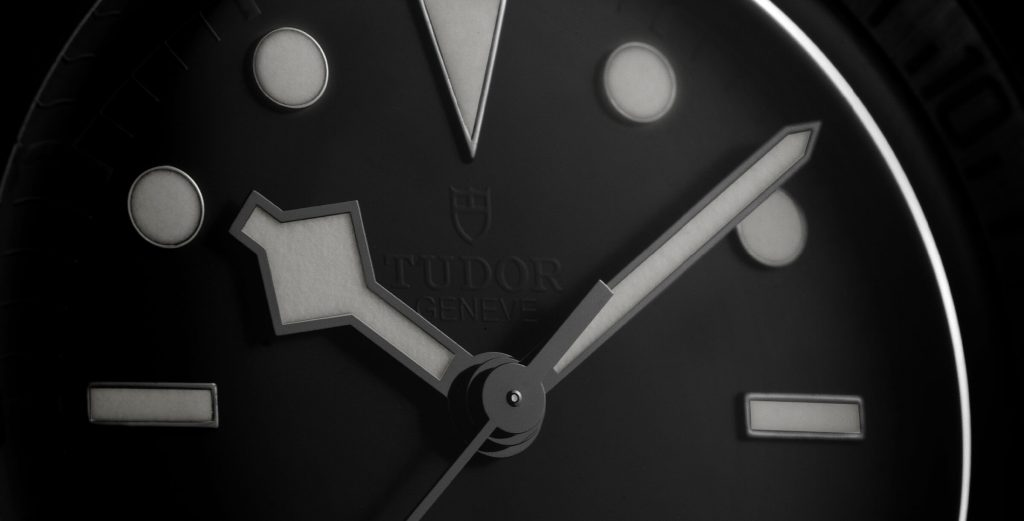 Pormenor mostrador Tudor Black Bay Ceramic   © Paulo Pires / Espiral do Tempo