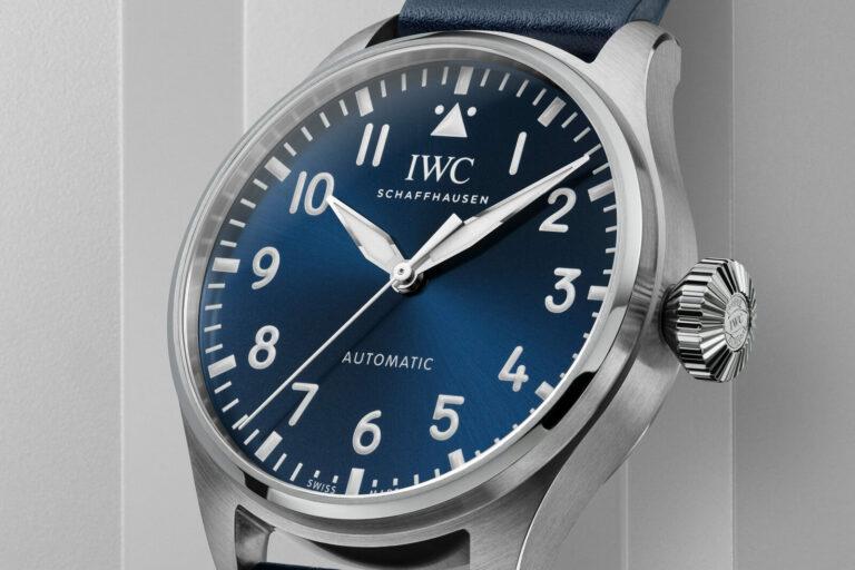 Pormenor mostrador IWC Big Pilot's Watch 43 | @ IWC
