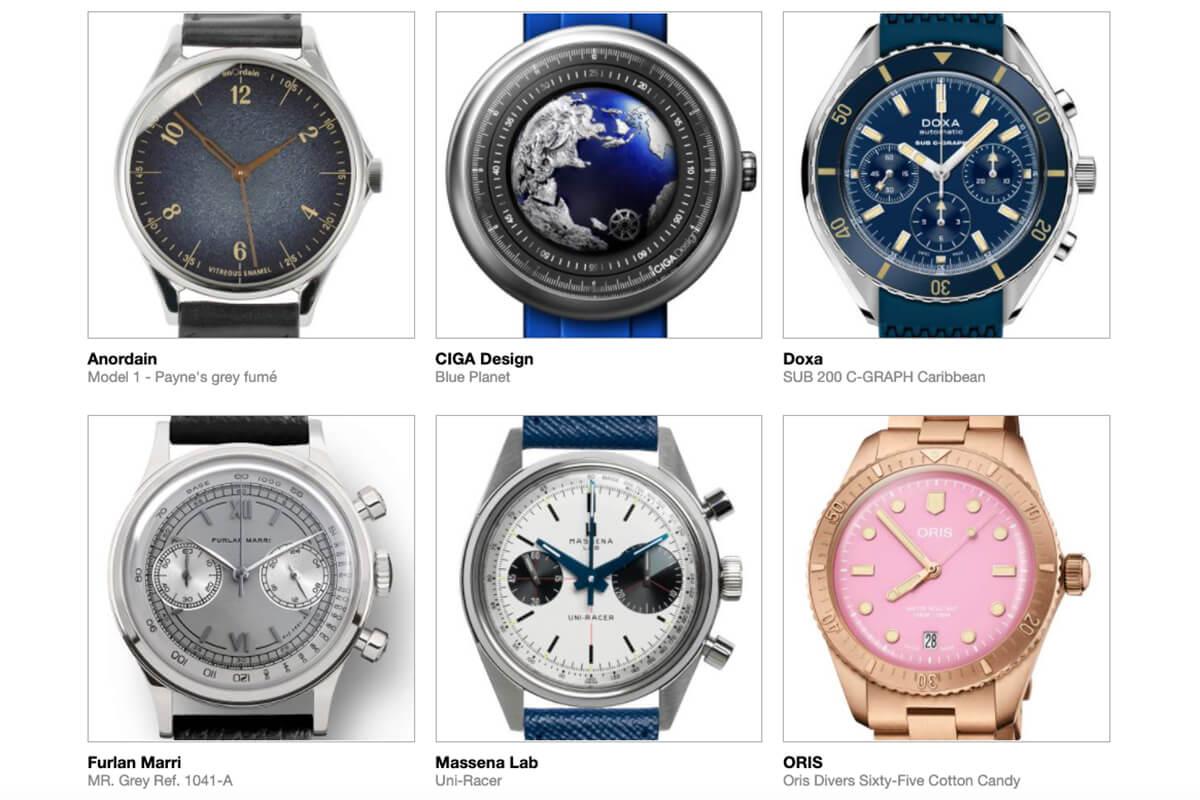 GPHG 2021 Nominated Watches: Challenge