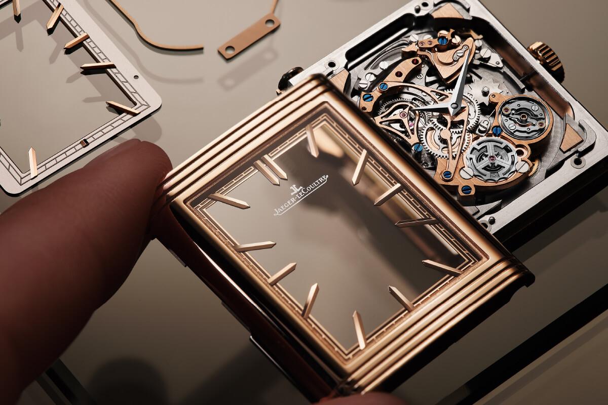Pormenores Jaeger-LeCoultre Reverso Tribute Minute Repeater | © Jaeger-LeCoultre