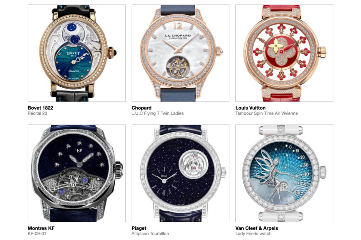 GPHG 2021 Nominated Watches: Ladies' Complications