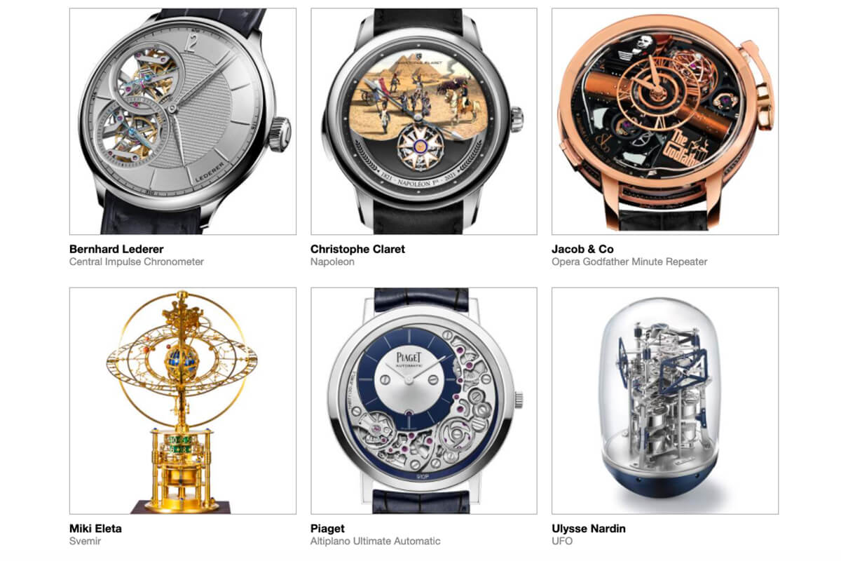 GPHG 2021 Nominated Watches: Mechanical Exception